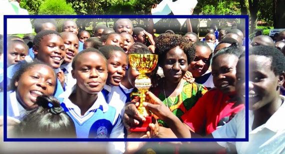 Moi Girls Kamusinga Handball team Heads to China 2020.